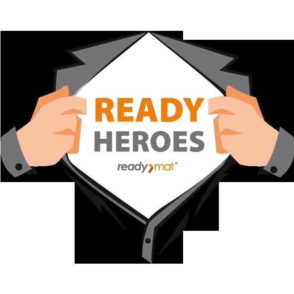 Znak READY HEROES